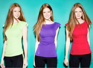 FASHION FORWARD Senior Avery Haugen models athletic wear for SunKissed Girl's clothing line. PHOTO PROVIDED BY ASHTON GILLESPIE