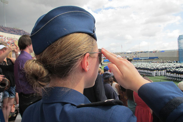 Q&A: Clare Sakovich '11, sophomore at the United States Air Force Academy in Colorado