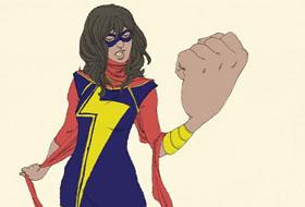 Marvel Introduces New Female Muslim Superhero