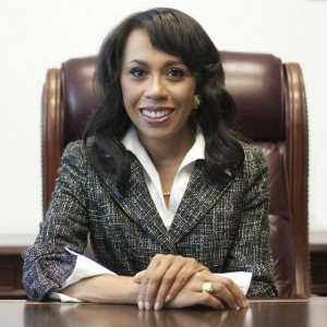 DEMOCRAT DAISY Staci Williams '77 will face her first primary in February of next year. Photo provided by Staci Williams