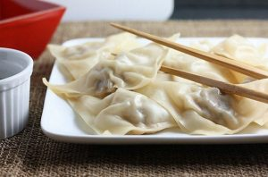 Traditional steamed dumplings. Photo provided by firstlookthencook.com