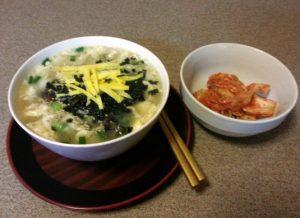 Rice cake soup. Photo provided by maangchi.com