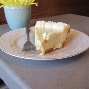 A LEMONY TWIST Mellow Yellow, is the their new summer take on traditional key lime pie. PHOTO BY CLAIRE FLETCHER