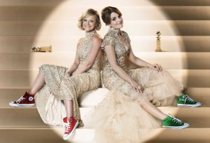 Tina Fey and Amy Poehler will host the Golden Globes for their third and final time tonight on NBC.