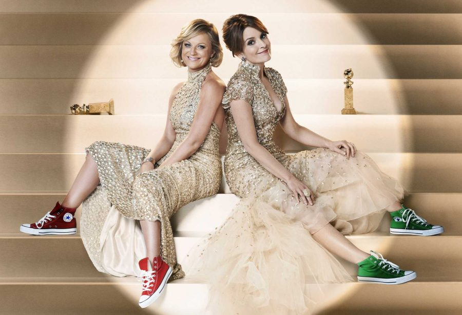 Tina+Fey+and+Amy+Poehler+will+host+the+Golden+Globes+for+their+third+and+final+time+tonight+on+NBC.