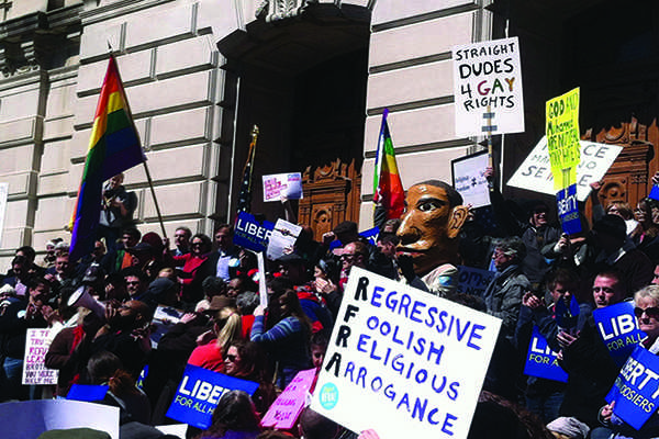 RFRA Creates Controversy over LGBT Rights