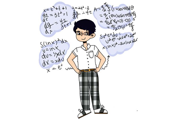 Senior Surpasses Math Courses