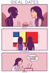 "COMIC: ""Ideal Date"" by Brenda Lee"