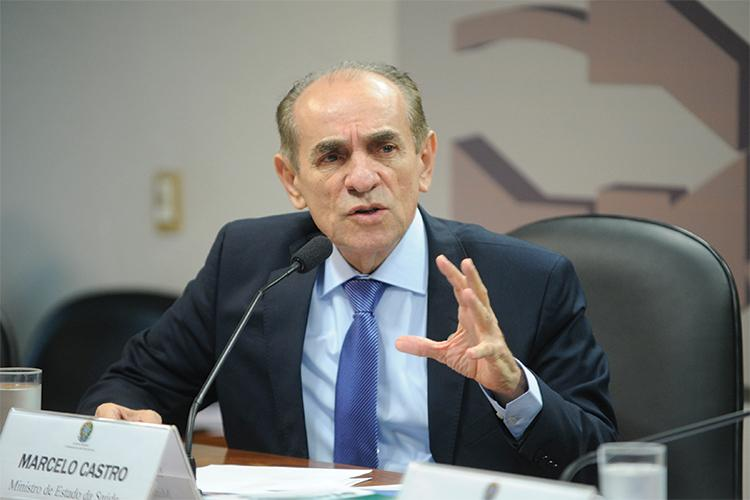 Brazilian Health Minister Marcelo Castro hopes to have a vaccine ready within a year.//Photo provided by Senado Federal
