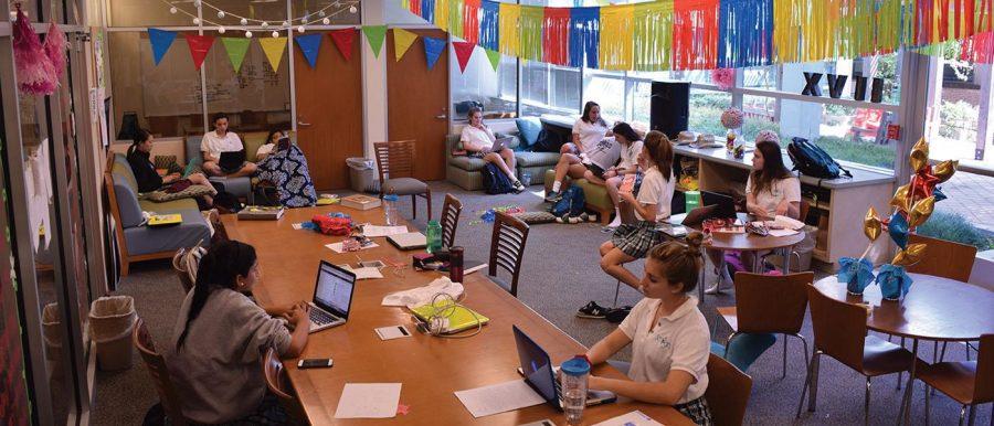 Seniors Score New Space