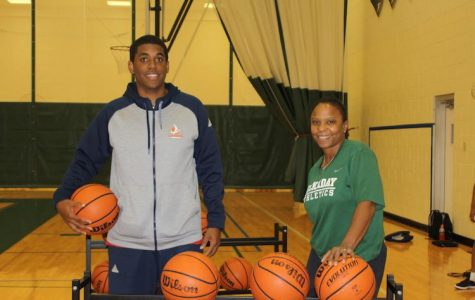 Coach Lee Green and Assistant Coach Robyn Fullum join Hockaday