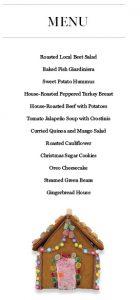 food-spread-menu