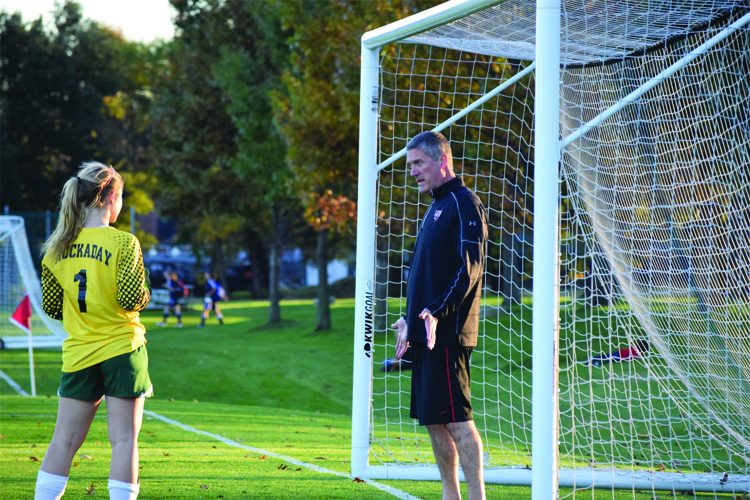 Renaissance Man: Upper School Head takes role as goalie coach