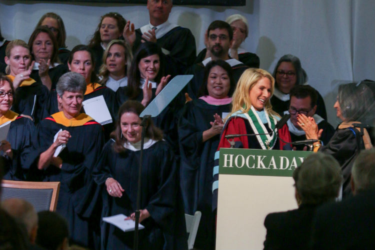 Dr. Coleman Installed As Hockaday's 13th Eugene McDermott Head of School