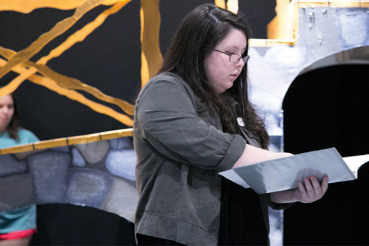 Double Threat, Senior Writes and Directs Fall Play