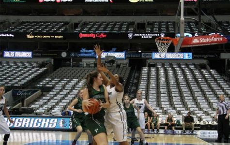 Hockaday Varsity Basketball Plays in the Big Leagues