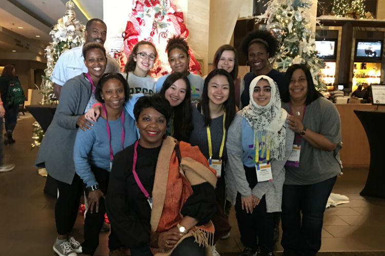 Hockaday Students and Faculty Travel to Anaheim for SDLC