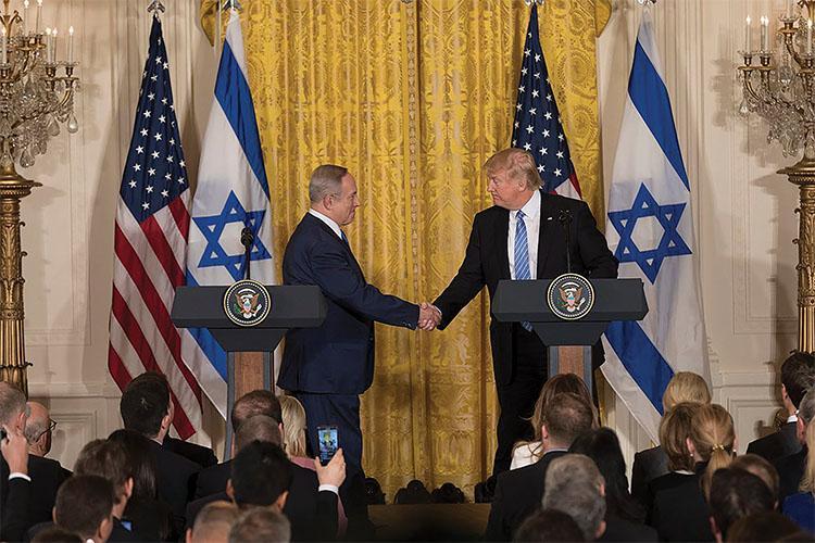 Trump Abandons Middle East Precedent