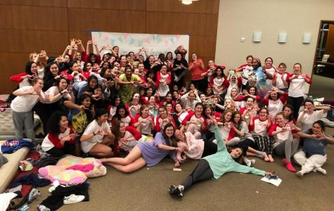Class of 2018 Celebrate Unity at Senior Sleepover