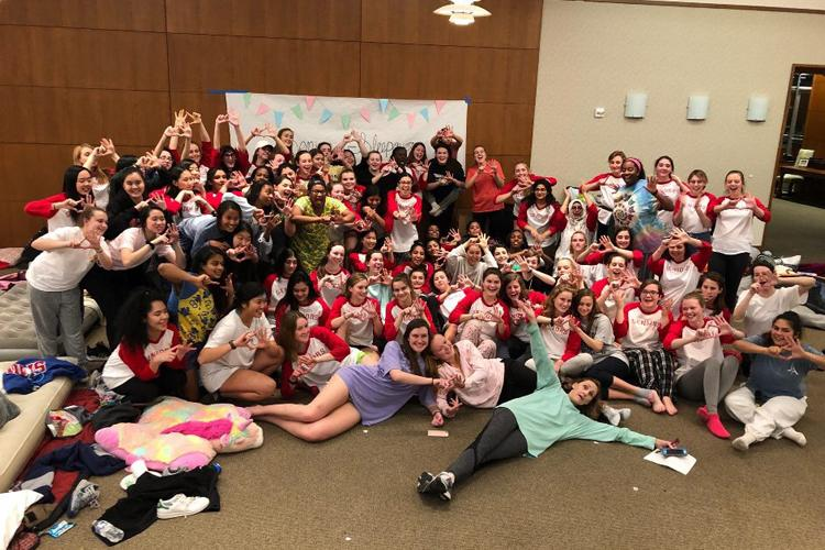 Class+of+2018+Celebrate+Unity+at+Senior+Sleepover