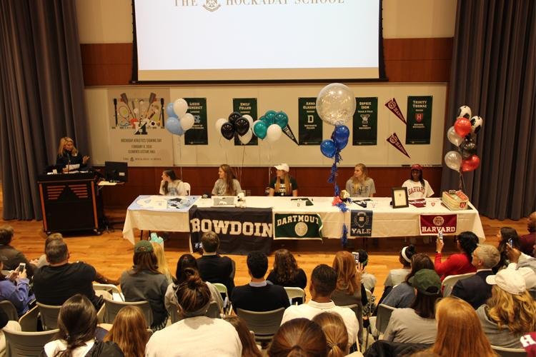 Five Athletes Formally Commit on Signing Day