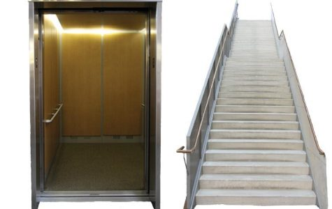 Staff Standoff: Elevator or Stairs?