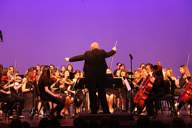 Long's Last Hockaday Orchestra Performance