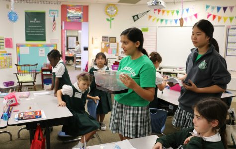 Second Graders Learn to Go Green with All Green Club