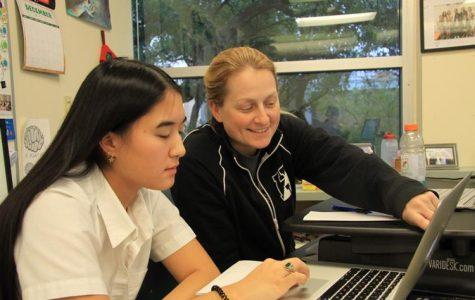 Sprinting Towards Success: How one Upper School mathematics teacher strikes a balance within her busy schedule.