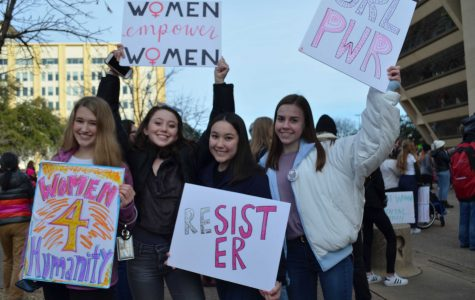 Hockaday Girls Empower At 2019 Women's March