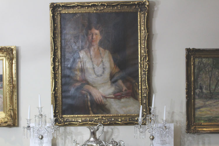 //PICTURED ABOVE: Portrait of a Young Lady in A White Blouse hangs triumphantly in the Memorial Dining Room. This painting, created by William Merit Chase, attracts external attention to Hockaday: sometimes, art history students come to Welch Road just to analyze it!