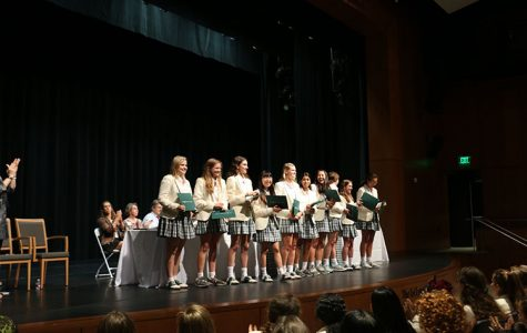 A Look into Senior Honors Assembly