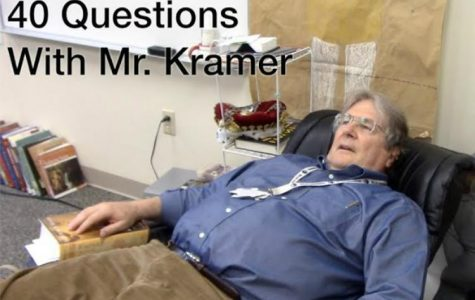 40 Questions with Mr. Kramer