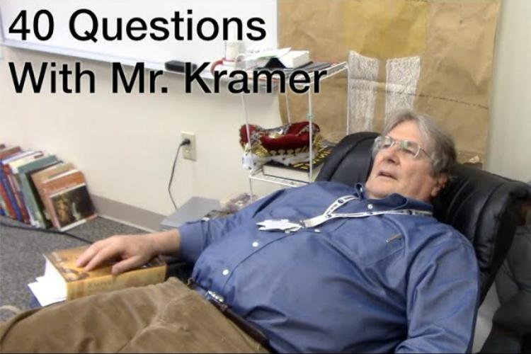 40+Questions+with+Mr.+Kramer