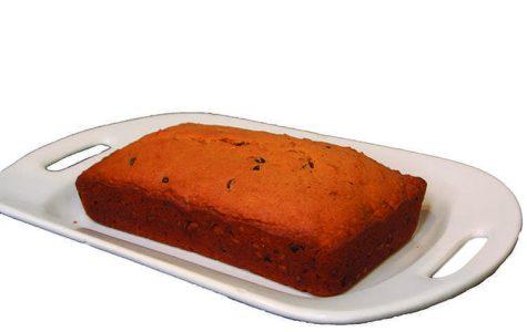 DIY Fall Food Chocolate Chip Pumpkin Loaf