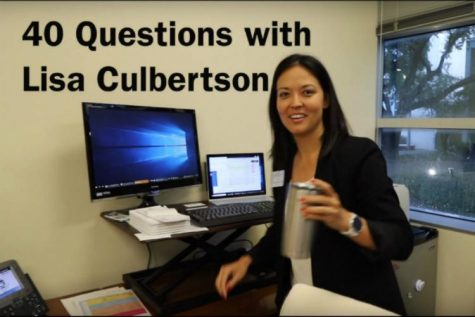 40 Questions with Lisa Culbertson
