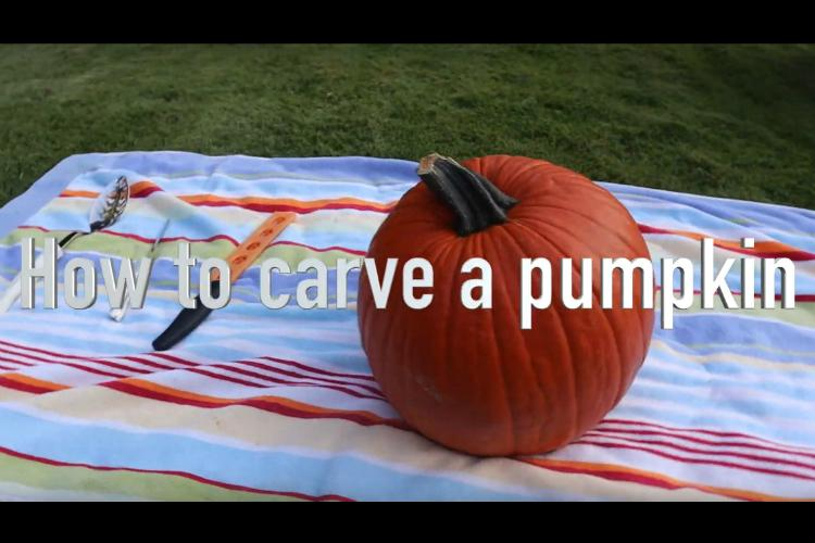How+to+Carve+a+Pumpkin