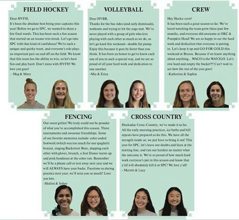 Words of Wisdom: 10 fall sports captains share expertise, motivation for teams going into SPC