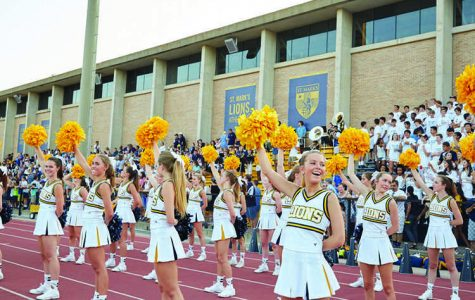 Cheering for the Home Team: St. Mark's cheerleaders renew tradition of cheering at Hockaday pep rallies