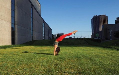 Stretching Toward Success: Senior Phoebe Sanders goes from student to teacher at Black Swan Yoga