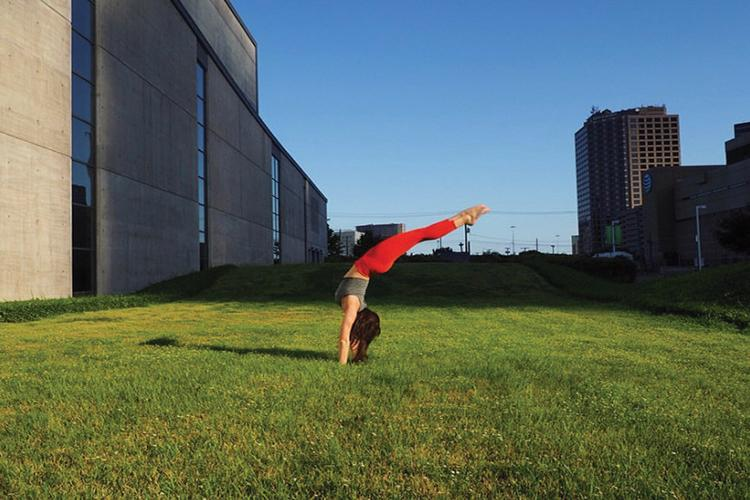 Stretching Toward Success Senior Phoebe Sanders Goes From Student To Teacher At Black Swan Yoga The Fourcast