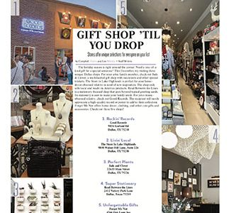 Gift Shop 'Til You Drop: Stores offer unique selections for everyone on your list