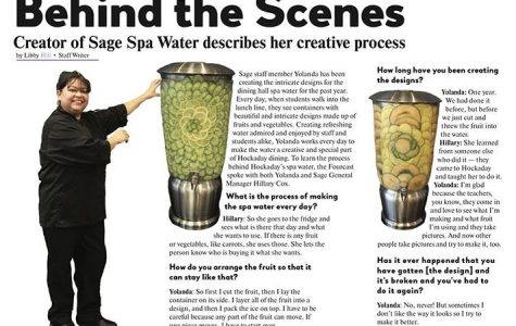 Behind the Scenes: Creator of Sage Spa Water describes her creative process