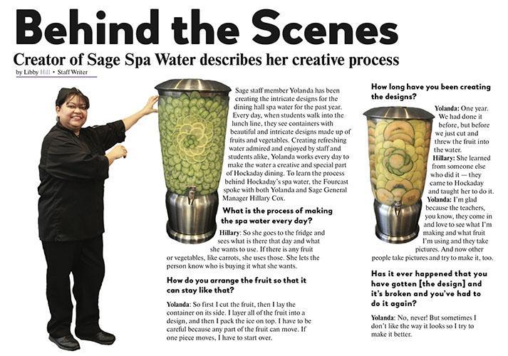 Behind the Scenes: Creator of Sage Spa Water describes her creative process