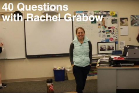 40 Questions with Rachel Grabow